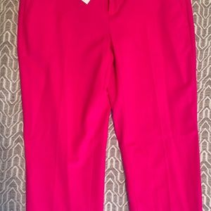 Hot Pink Avery mid-rise Ankle length dress pants